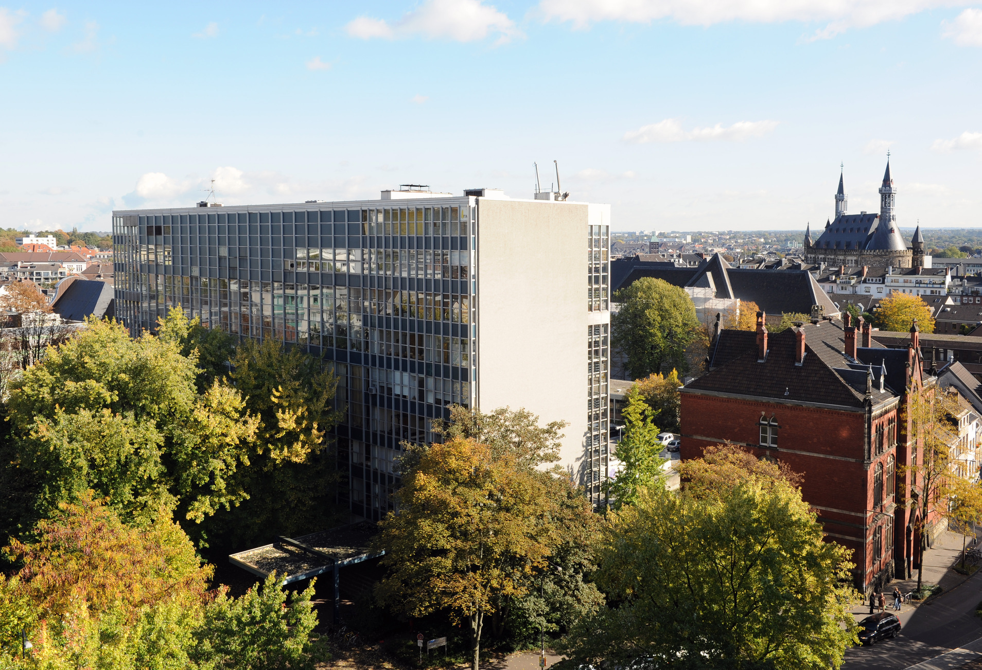 Office building of the Faculty of Mechanical Engineering
