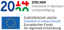 Logo of European Union and EFRE NRW