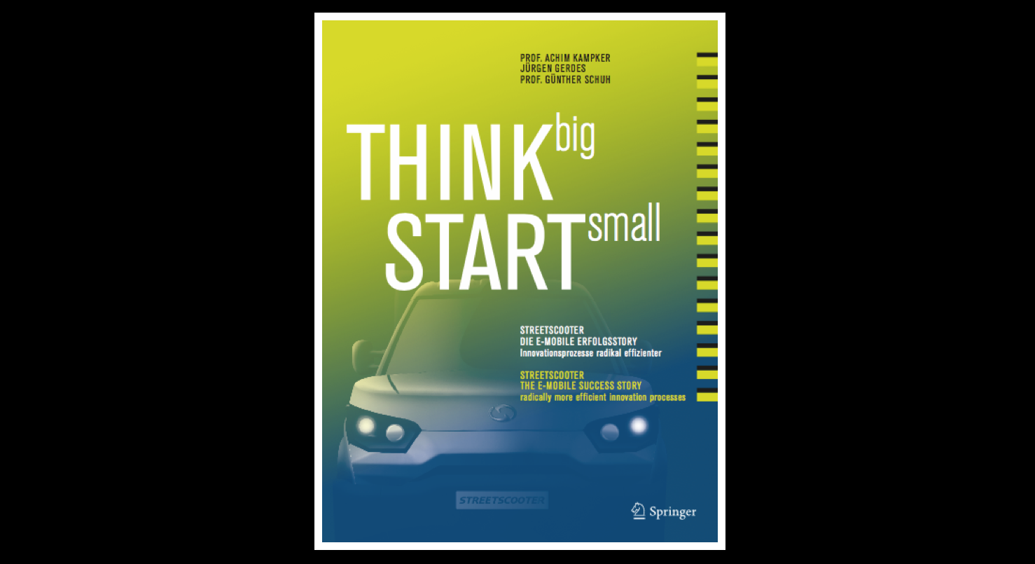 Bookcover Think Big Start Small