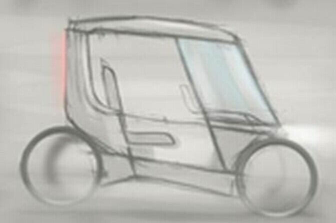 Concept sketch vehicle
